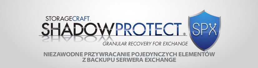 storagecraft shadowprotect spx granular recovery for exchange