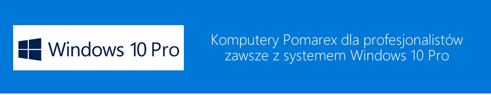 Windows 10 Pro - niebieski